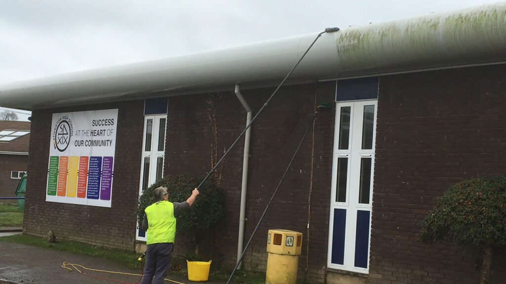 Facia And Cladding Cleaning