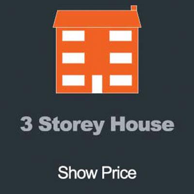 3 Storey House Gutter Clearance