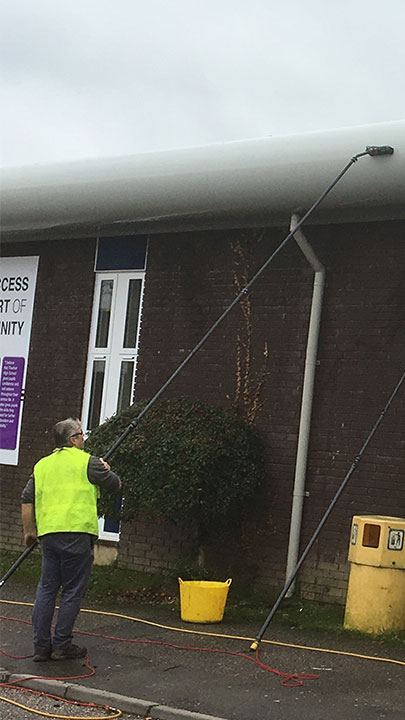 Fascia Cleaning In Exeter